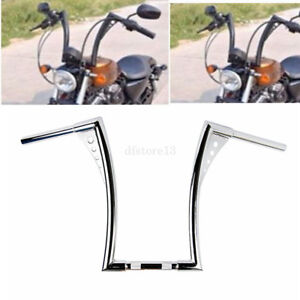 1-1-4-034-Rise-Poignees-Guidon-16-034-barre-Ape-Hangers-Bars-Fat-Pour-Harley-Sportster