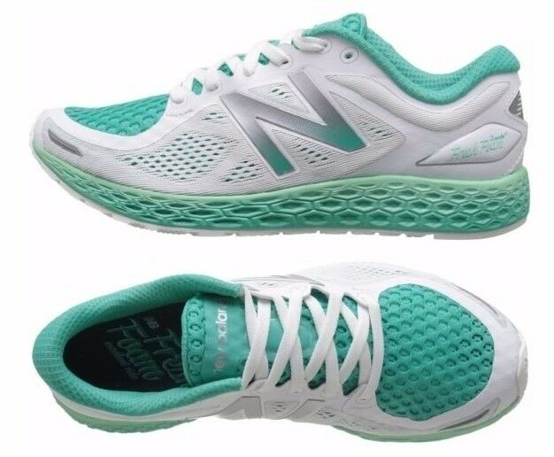 New Balance Damens Schuhes WEISS Green Zante V2 Fresh Foam Cushioned Sneakers NEW