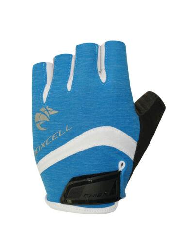 Chiba Lady BioXCell Pro Damen Fahrrad Handschuhe kurz blau 2019