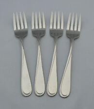 """2 Two Oneida Flight Reliance Salad Dessert Forks 6 3//4/"""" Glossy Stainless"""