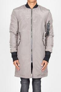Jacket Jeremy June Bomber Cbb Sixth Shore Silver Mens Length Long Grey Geordie TwCq77Yp