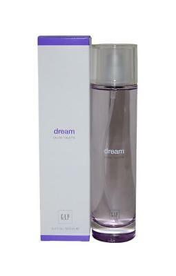 DREAM by Gap 3.4 oz EDT eau de toilette Women's Spray Perfume New NIB 100 ml
