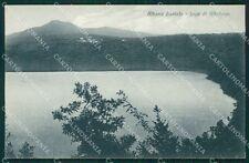 Roma Albano Laziale Lago Albalunga cartolina QT4689