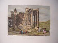 Italia «Tempio d´Ercole Sassano detto della Sibilla» Intagliatore Domenico Amici