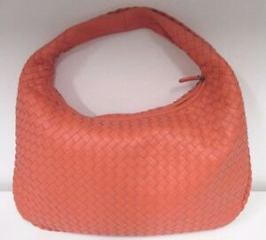 Image is loading BOTTEGA-VENETA-Corallo-Medium-Vesuvio-Intrecciato-Nappa-Bag - 8ff3d03cd0e8f