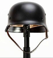 Ww2 Wwii German Elite Wh Army M35 M1935 Steel Helmet Stahlhelm (black/green)
