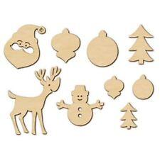 American Crafts Studio Calico Wood Veneer *CHRISTMAS *NAVIDAD *NOEL~18ct ~366322