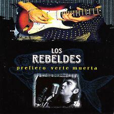 CD SINGLE promo LOS REBELDES prefiero verte muerta SPANISH 1997  ROCKABILLY