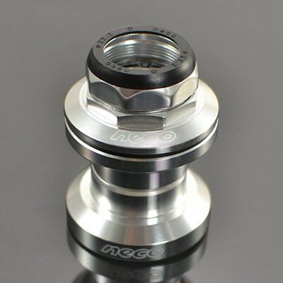"Silver neco 1/"" 22.2mm Alloy Ahead Headset"