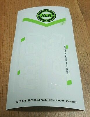 Sticker Decal Set for 2014 Cannondale SCALPEL 29 CARBON 2 Lefty XLR 100 Fork