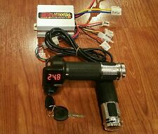 24V - 500 Watt Controller and Digital throttle (Brushed Motor) Ebike Scooter