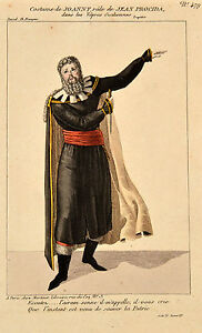 Original-Martinet-Theater-Costume-1805-Joanny-Jean-Procida-Tragoedie-Theater-Act