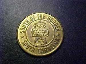 SOUTH-OF-THE-BORDER-GOOD-LUCK-SOUVENIR-TOKEN-FF200UXX