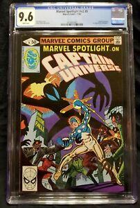 Marvel Spotlight 9 Captain Universe Mr. E Knull Symbiote CGC 9.6 WHITE PAGES