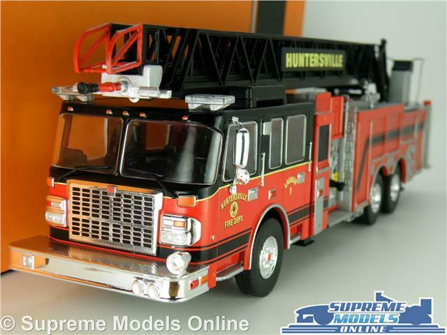 SMEAL 105 FIRE ENGINE TRUCK MODEL LORRY 1 43 Dimensione HUNTERSVILLE AMERICAN IXO T3