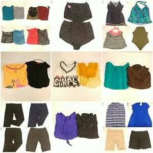 Huge-Lot-Women-039-s-3X-Plus-Size-Summer-Clothes-Shorts-Pants-Skirts-Shirts-Tops