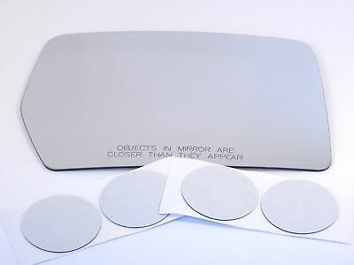 Fits 07-14 Toyota FJ Cruiser Right Pass Convex Mirror Glass Lens  w//Adhesive  US