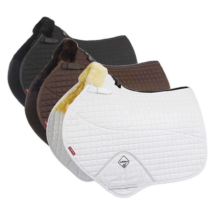LeMieux Lambswool Close Contact Jumping Square Half Lined