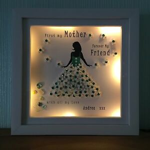 image is loading led personalised box frame mum mother daughter best - Mother Daughter Picture Frame