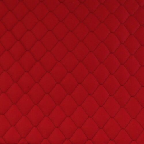 Coppia coprisedili anteriori universali trapuntati made in Italy colore rosso