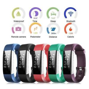 Details about Original ID115 Plus HR Smart Bracelet Wristband Tracker Sleep  Heart Rate Monitor