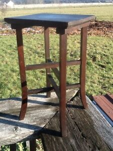 Antique Mission Style Furniture.Details About Vintage Mission Style Plant Stand Arts And Crafts Small Table Furniture