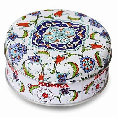 UNIQUE PRESENT Great 120g IZNIK Design Turkish Delight Xmas Vegetarian Coffee