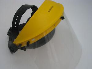 2x Augenschutz Gesichtschutz Sicherheitshel<wbr/>m Cratex NEU