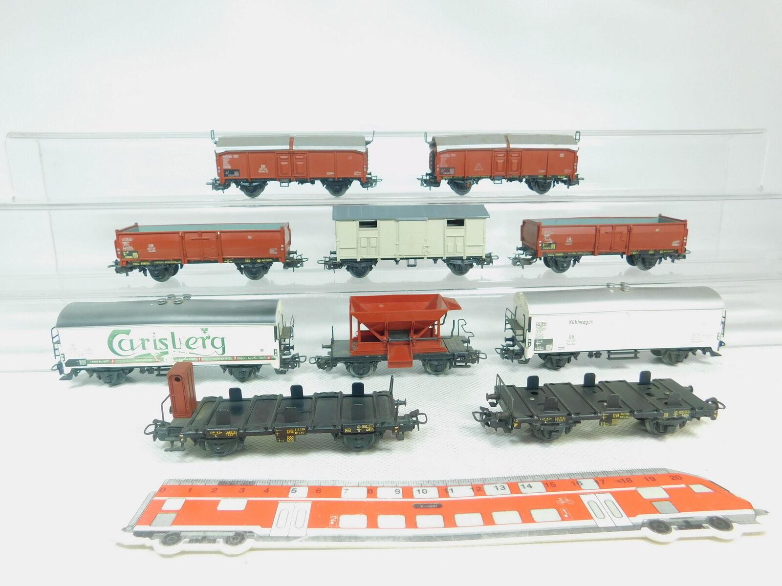 BM491-2 10x marklin H0 AC autoro Merci   autolsberg Dsb + Frigorifero DB Ecc. ,2.