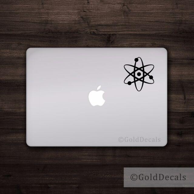 Atom - Vinyl Decal Car Truck Mac Sticker Graphic Science Atheist Einstein