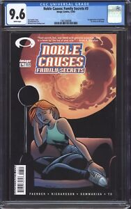 NOBLE-CAUSES-FAMILY-SECRETS-3-CGC-9-6-1st-cameo-app-of-Kirkman-039-s-Invincible