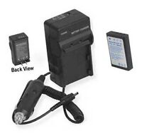 Battery + Charger For Ricoh 500g G3 G4 Gx8 Rx