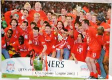 Champions League Winner 2005 FC Liverpool Fan Big Card Edition A175