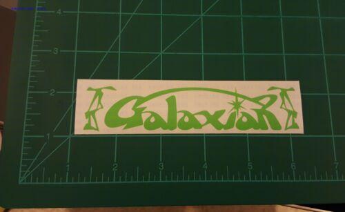 GALAXIAN ARCADE game Custom Vinyl Sticker Car Window BumpersTool Box Movies