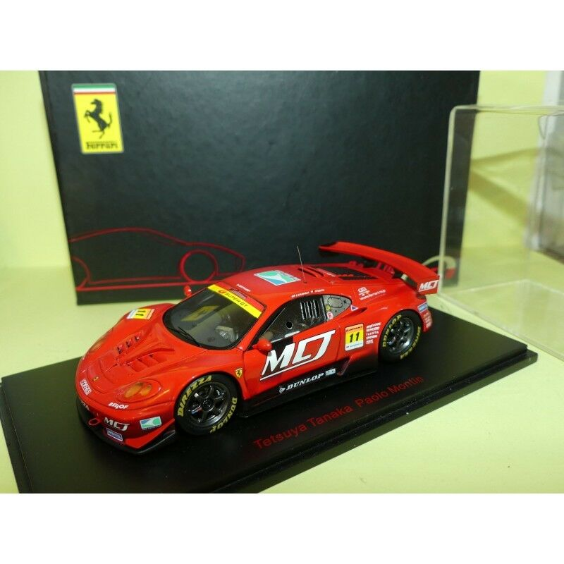 FERRARI 360 MODENA SUPER GT 300 JIM GAINER 2005 SPARK RED LINE 43744 1 43