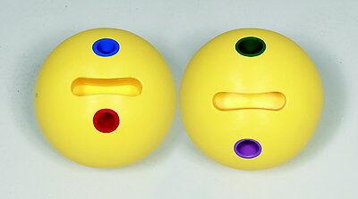 Sportime Universal HandGrip Medium-Soft PVC Bowling Ball, 2.87 Pounds