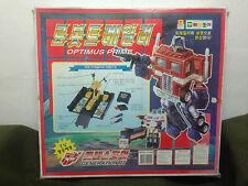 RARE Hasbro Korea Optimus Prime Transformers Dump Robot Figure Toy Model Anime