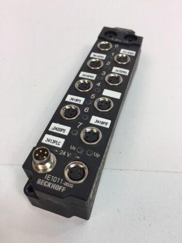 Beckhoff IE 1011 8 canali ingresso digitale Link Extension Box 24v DC 0,2ms