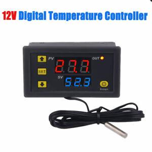 12V-55-120-Termostato-Digitale-LCD-Display-Regolatore-Temperatura-Controller