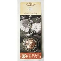 Civil War President Abraham Lincoln Abe Penny Pocket Watch