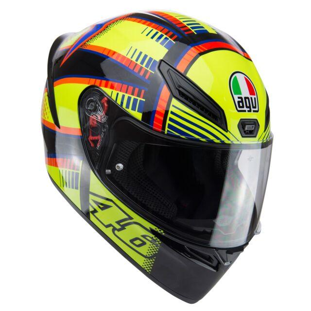 Casco deportivo AGV K1 Soleluna 2015 moto motocicleta