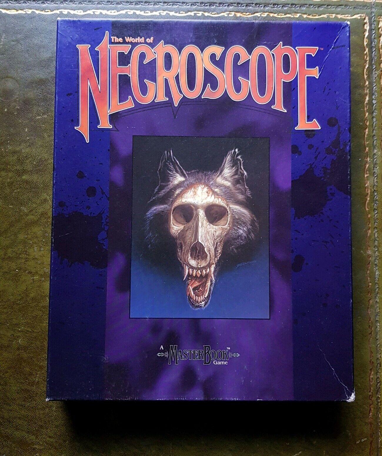NECROSCOPE - COMPLETE RPG BOX SET HORROR BRIAN LUMLEY MASTERBOOK WEST END GAMES