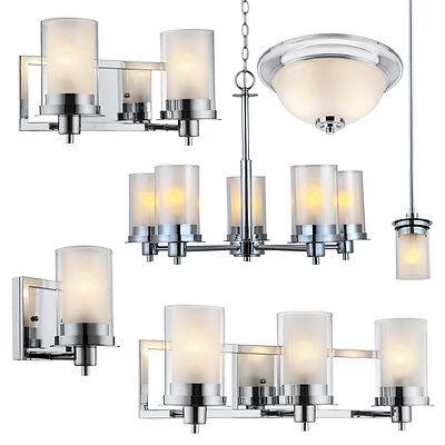 Avalon Polished Chrome Bathroom Vanity Ceiling Lights Chandelier Lighting Ebay