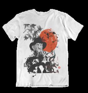 Friday 13TH Horror Manga Japanese Samurai Film Movie Anime Chinese T Shirt
