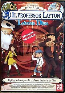 IL-PROFESSOR-LAYTON-E-L-039-ETERNA-DIVA-2009-DVD-EX-NOLEGGIO-KAZE