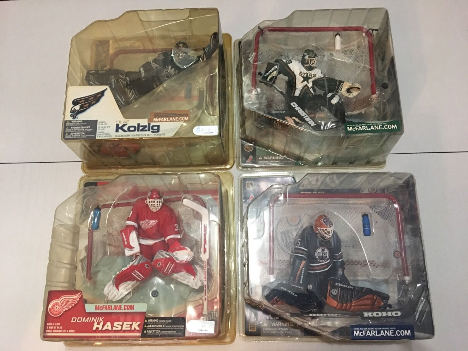 NHL Mcfarlane Series 1 2 3 And 7
