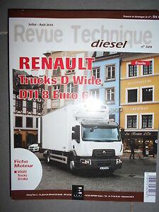 Renault Lastwagen D Breite Dti 8-250 280 320 Ch Auto & Motorrad: Teile Revision Technik Rtd 320 Knitterfestigkeit