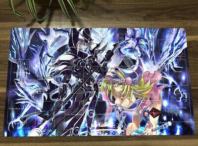 Dark Magician Girl Large Keyboard Mat Yugioh Playmat Anime Mouse Pad Yu-Gi-Oh