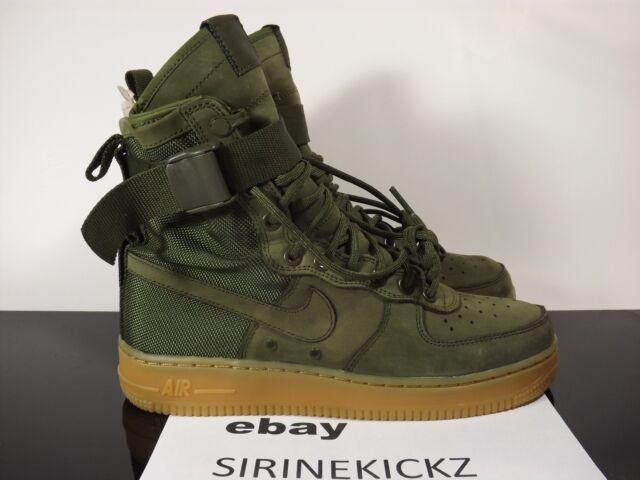 8a60f3da2ec482 Nike SF AF1 Special Field Boot Air Force Urban Utility Olive Green 859202 -339
