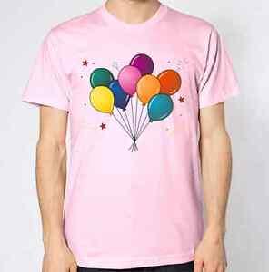 Ballons T-shirt Célébrations Pop Art Illustration Conception Graphique Cadeau-afficher Le Titre D'origine